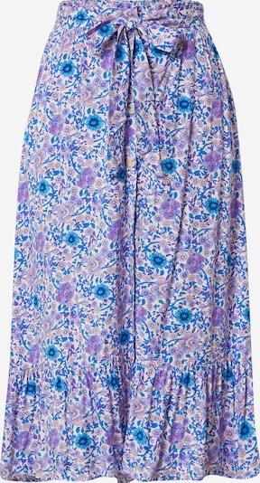 Fustă 'COSTA' Grace & Mila pe albastru / lila / alb, Vizualizare produs