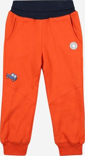 Pantaloni SIGIKID pe albastru fumuriu / albastru deschis / albastru închis / portocaliu neon, Vizualizare produs