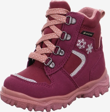 SUPERFIT Snowboots 'Husky' in Rot