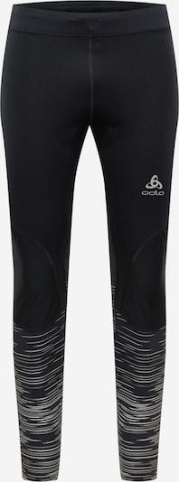 ODLO Sporthose in hellgrau / schwarz, Produktansicht