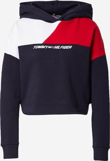 Hanorac sport Tommy Sport pe albastru închis / roșu / alb, Vizualizare produs