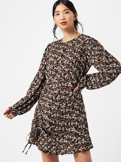 Missguided Kleid in mischfarben / schwarz, Modelansicht
