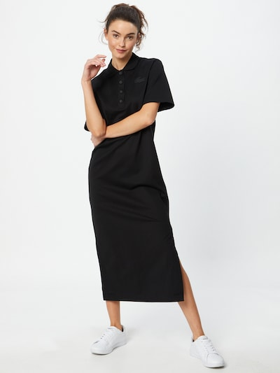 LACOSTE Vestido en negro, Vista del modelo