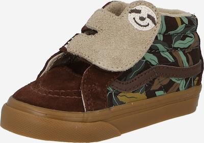 VANS Sneaker in braun / hellbraun / grün / dunkelgrün, Produktansicht