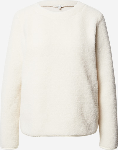TOM TAILOR Sweat-shirt en beige chiné, Vue avec produit