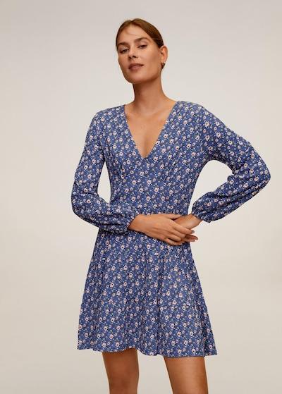 MANGO Kleid 'Lolo' in blau, Modelansicht
