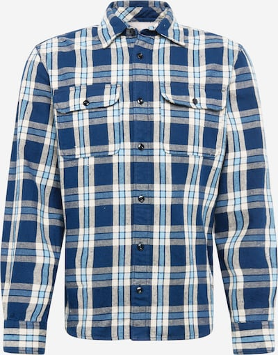 JACK & JONES Hemd in navy / hellblau / weiß, Produktansicht
