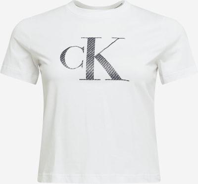 Calvin Klein Jeans Curve Majica u crna / bijela, Pregled proizvoda