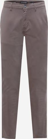 Pantalon chino No Excess en gris