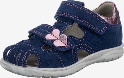 RICHTER Sandale in dunkelblau / hellpink, Produktansicht