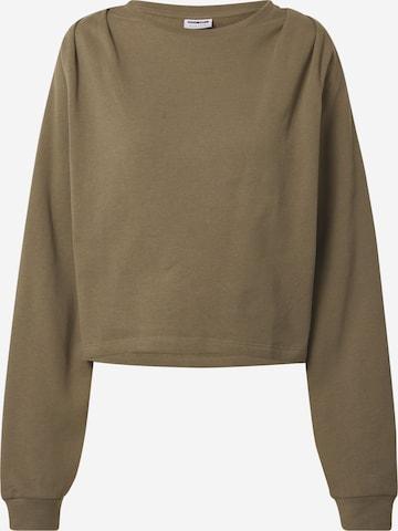 Noisy may Sweatshirt 'JOAN' i grønn