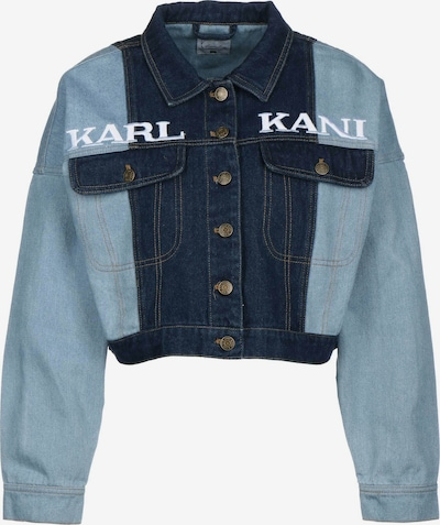 Karl Kani Übergangsjacke in marine / hellblau, Produktansicht