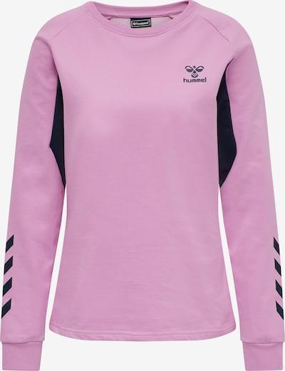 Hummel Sweatshirt in pink / schwarz, Produktansicht