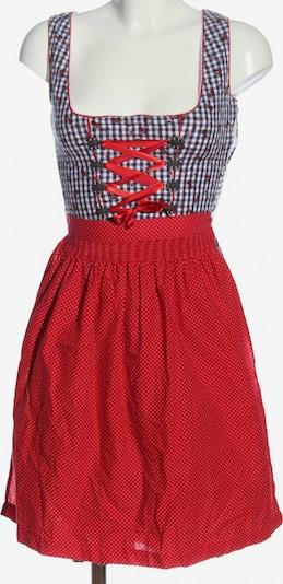 MARJO Dirndl in XS in lila / rot / weiß, Produktansicht