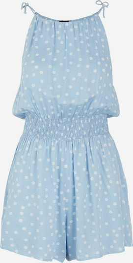 PIECES Jumpsuit in Light blue / White, Item view