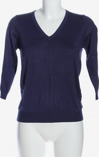 Marks & Spencer V-Ausschnitt-Pullover in M in blau, Produktansicht