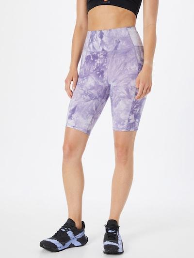 Sportinės kelnės 'BAMBIE' iš Marika, spalva – šviesiai violetinė / balta, Modelio vaizdas