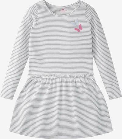 TOM TAILOR Kleid in hellpink / schwarz / silber / weiß, Produktansicht
