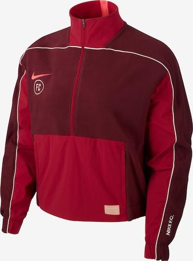 NIKE Sweatshirt in rot / dunkelrot, Produktansicht