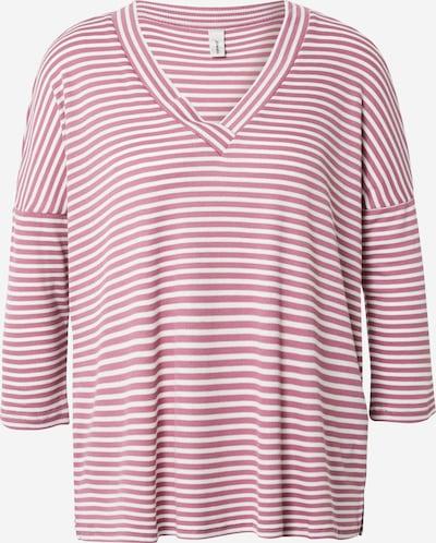 Soyaconcept T-shirt 'GELIKA 2' en rose / blanc, Vue avec produit