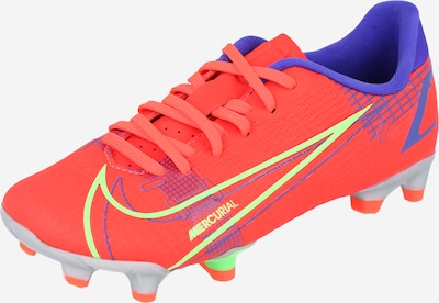 NIKE Fußballschuh  'JR VAPOR 14 ACADEMY FG/MG' in blau / neongelb / orangerot, Produktansicht
