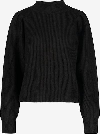 ONE MORE STORY Pullover mit Puffärmeln in schwarz, Produktansicht