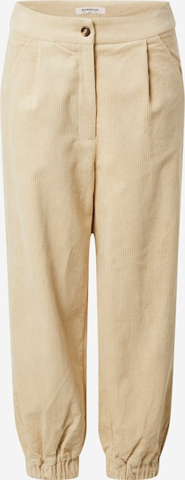 GLAMOROUS Trousers in Beige, Item view