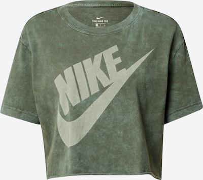 Nike Sportswear Skjorte i khaki / hvid, Produktvisning