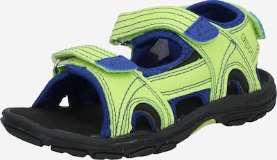 KAPPA Отворени обувки 'EARLY II' в синьо / киви, Преглед на продукта