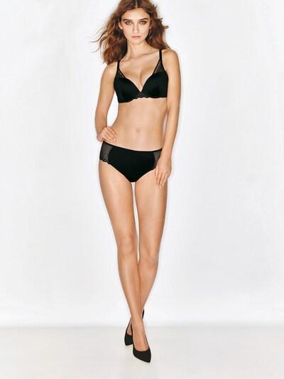 WONDERBRA Push-up BH ' Modern Chic ' in schwarz, Modelansicht