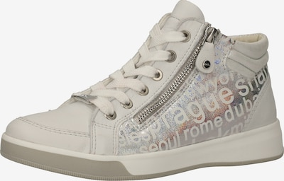ARA Sneaker 'Rom' in silber / weiß, Produktansicht