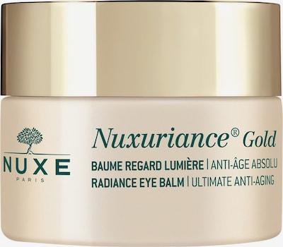 Nuxe Augencreme 'Nuxuriance Gold Baume Regard Lumière' in goldgelb / grasgrün, Produktansicht