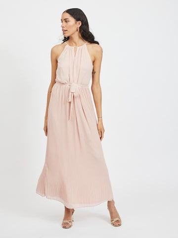 VILA Evening Dress 'Katelyn' in Pink