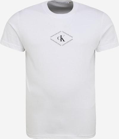 fekete / fehér Calvin Klein Jeans Póló, Termék nézet