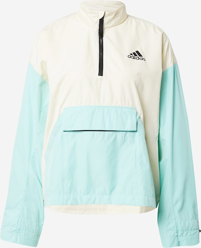 ADIDAS PERFORMANCE Outdoor Jacket 'Back to Sport' in Aqua / Black / White, Item view