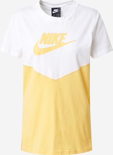 Nike Sportswear T-Shirt in gelb / weiß, Produktansicht