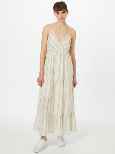 VERO MODA Kleid 'SAVANNAH' in beige / pastellblau / orange / rot, Modelansicht