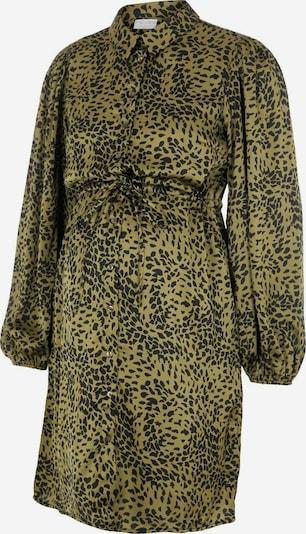 MAMALICIOUS Kleid in grün / schwarz, Produktansicht