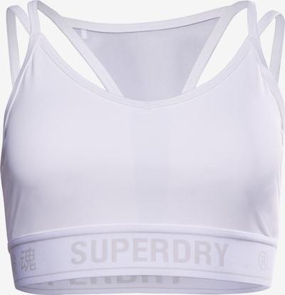 Superdry Sport-BH in weiß, Produktansicht