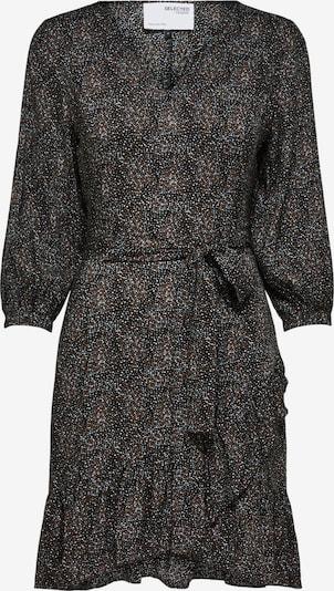 SELECTED FEMME Kleid 'Mabel' in grau / schwarz / weiß, Produktansicht
