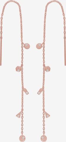 Boucles d'oreilles 'Gwennor' Joanli Nor en rose