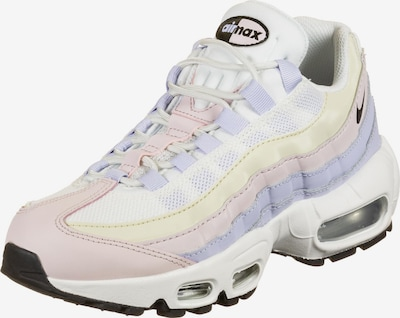 Nike Sportswear Sneakers low 'Air Max 95' in light yellow / lilac / pink / black / white, Item view