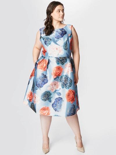 Chi Chi Curve Šaty 'Mariyah' - svetlomodrá / zmiešané farby, Model/-ka