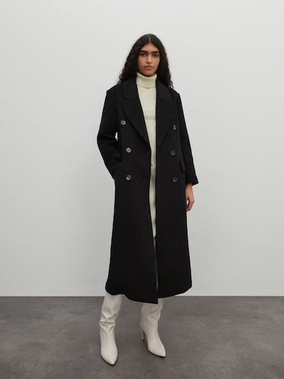 EDITED Преходно палто 'Doreen' в черно, Преглед на модела