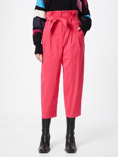 STEFFEN SCHRAUT Pantalon à pince 'Liza' en rose, Vue avec modèle