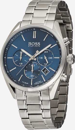 BOSS Casual Chronograph 'CHAMPION, 1513818' in blau / silber, Produktansicht