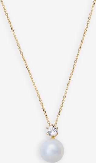 XENOX Kette in gold / perlweiß, Produktansicht