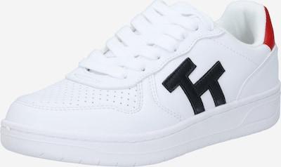 Sneaker low TOM TAILOR pe bleumarin / roșu / alb, Vizualizare produs