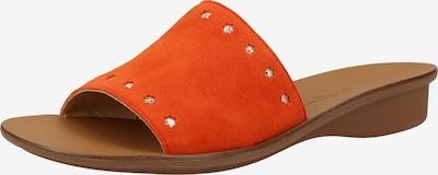 Paul Green Mule en rouge orangé, Vue avec produit