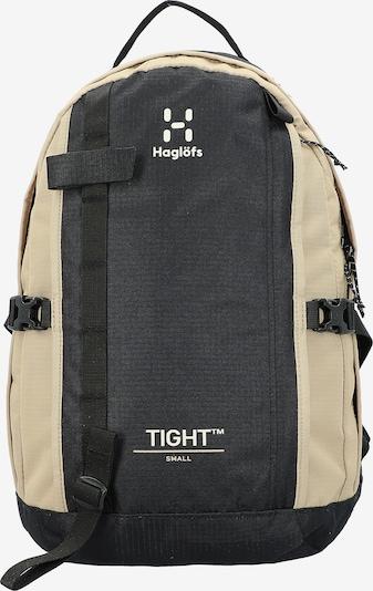 Haglöfs Rucksack in beige / schwarz / weiß, Produktansicht
